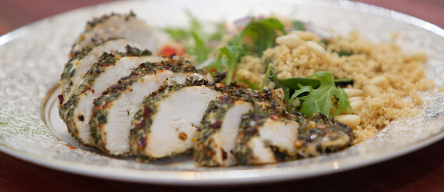 Herb crusted chicken breast recipe / Victims-clothing.cf